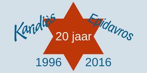 Karidiès 20 jaar
