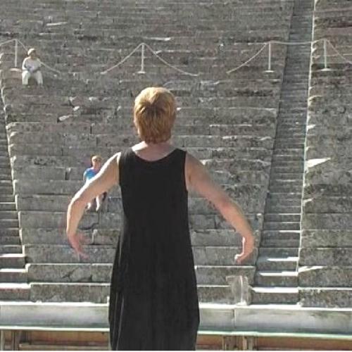 Verhaal vertellen in het theater van Epidavros
