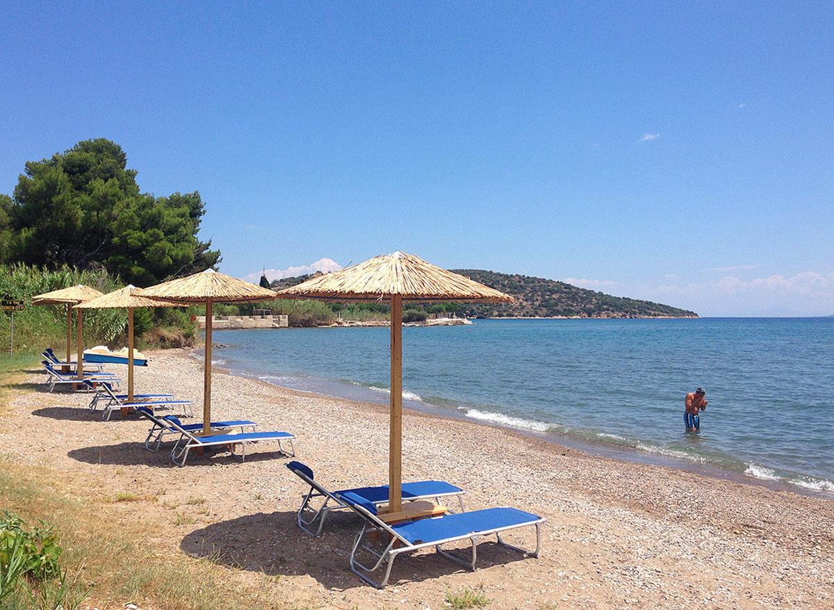 Strand bij Sunny Garden