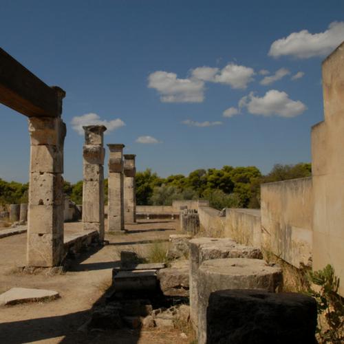 Asklepiosheiligdom Epidavros