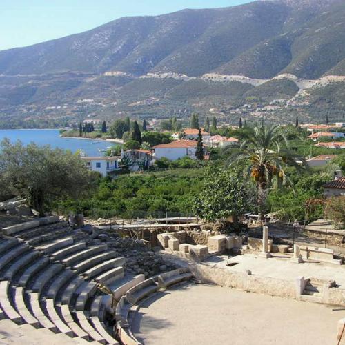 Kleine theater van Epidavros